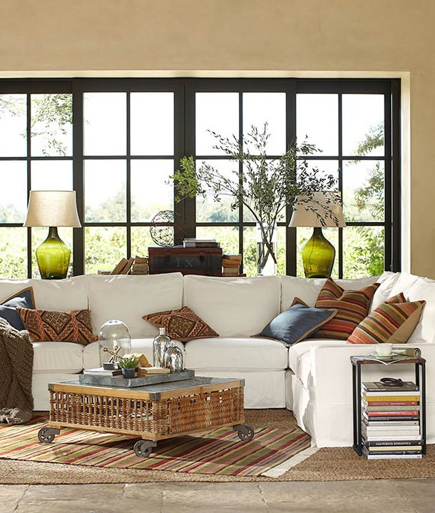 pottery barn living room who has a clean enough house for company by example 11729